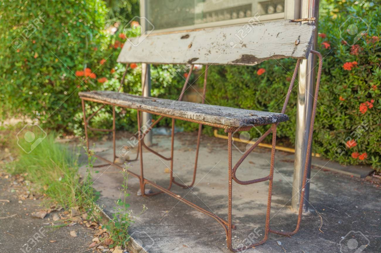 Super Old Bench In The Garden At Thailand Cjindustries Chair Design For Home Cjindustriesco