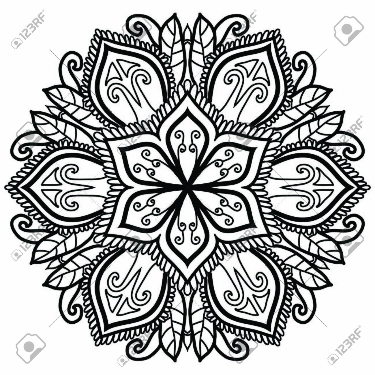 Mandala Vector Art Pattern Design - 143761231