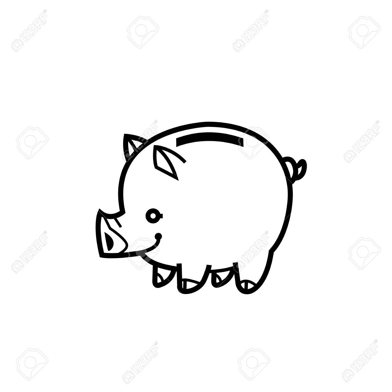 Piggy bank symbol of wealth finance and money saving and money piggy bank symbol of wealth finance and money saving and money vector multiplication sign is suitable biocorpaavc Gallery