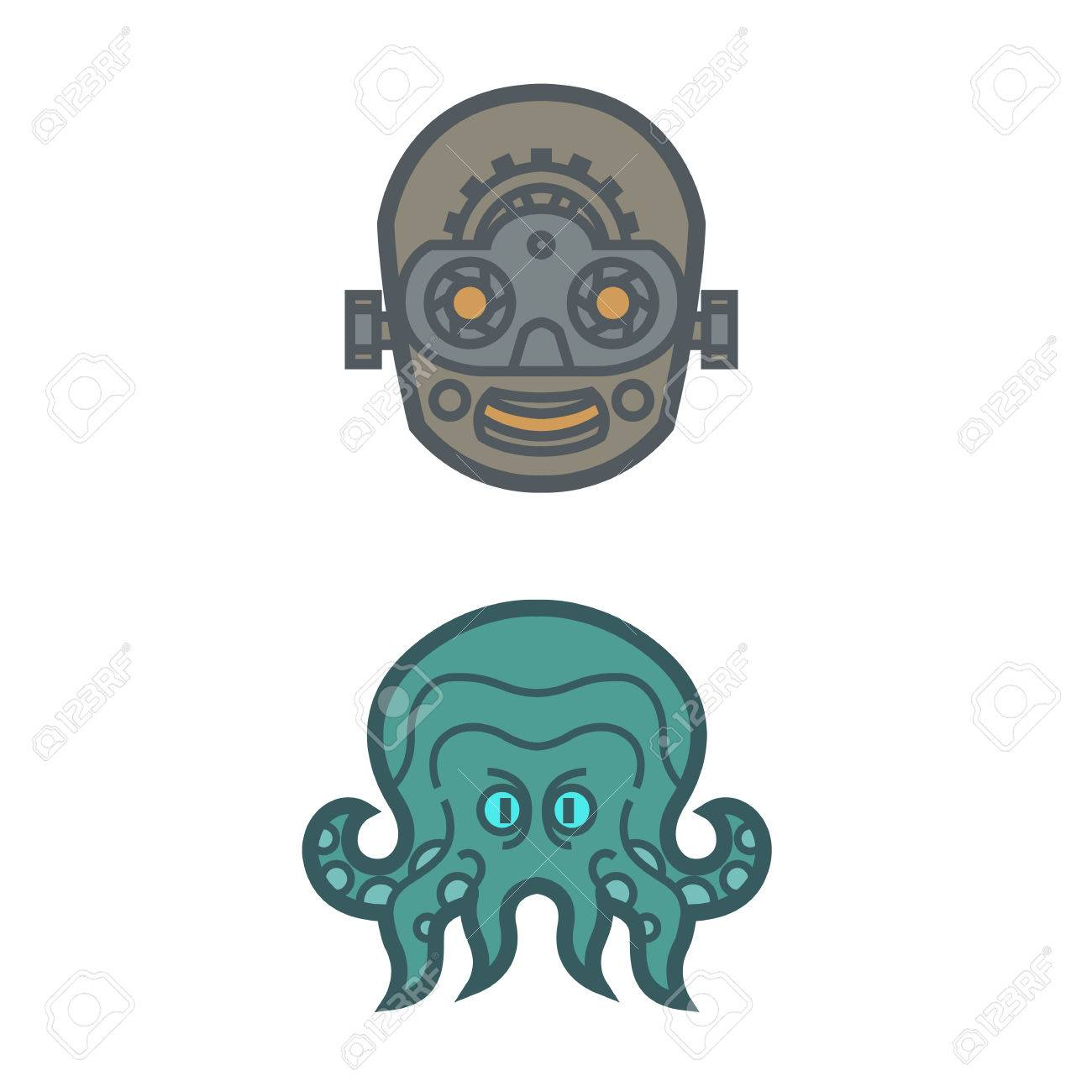 octopus Cthulhu mythical monster tentacle artificial intelligence