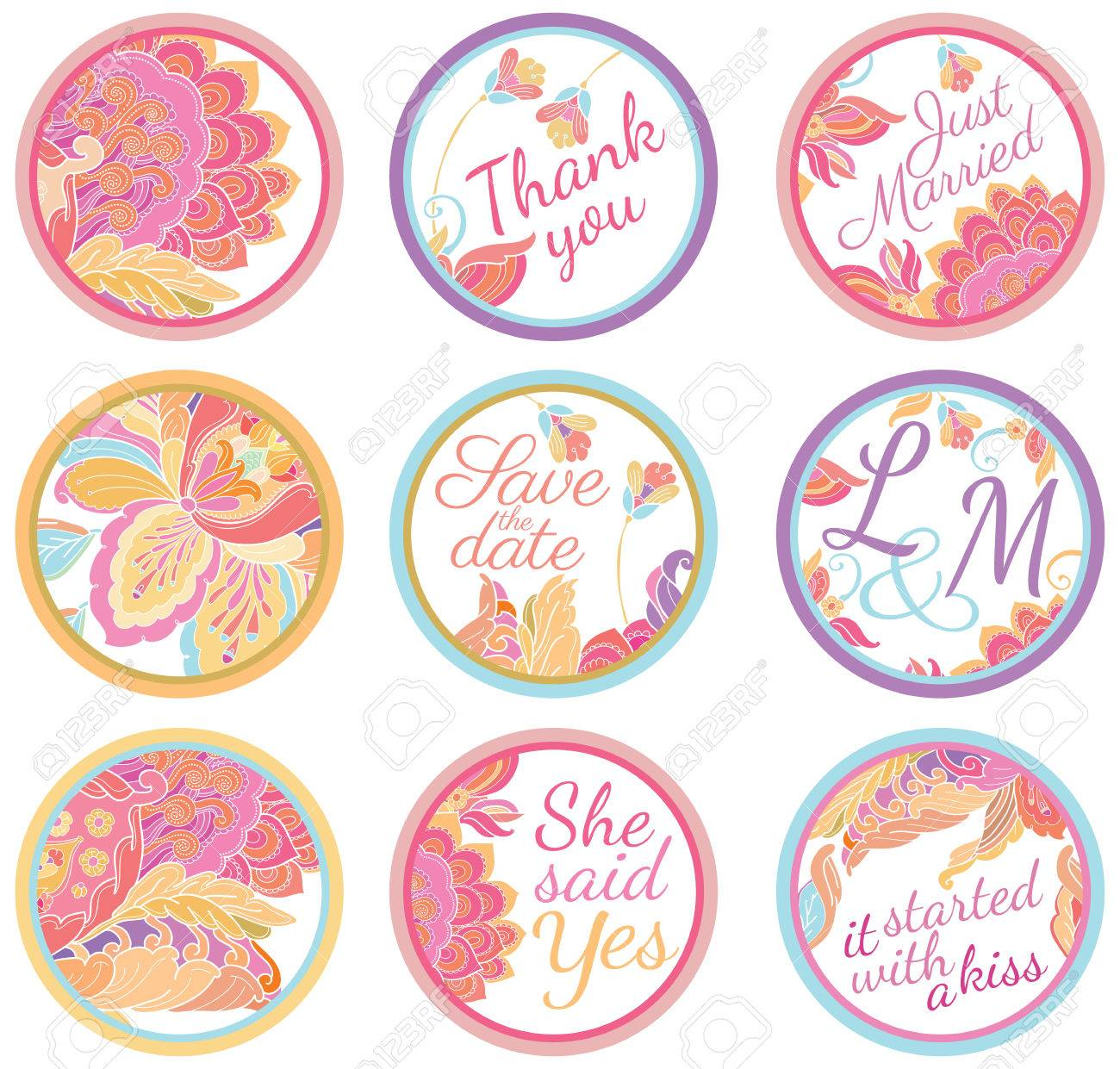 Personalized Candy Sticker Labels - Perfect Addition To Wedding ...