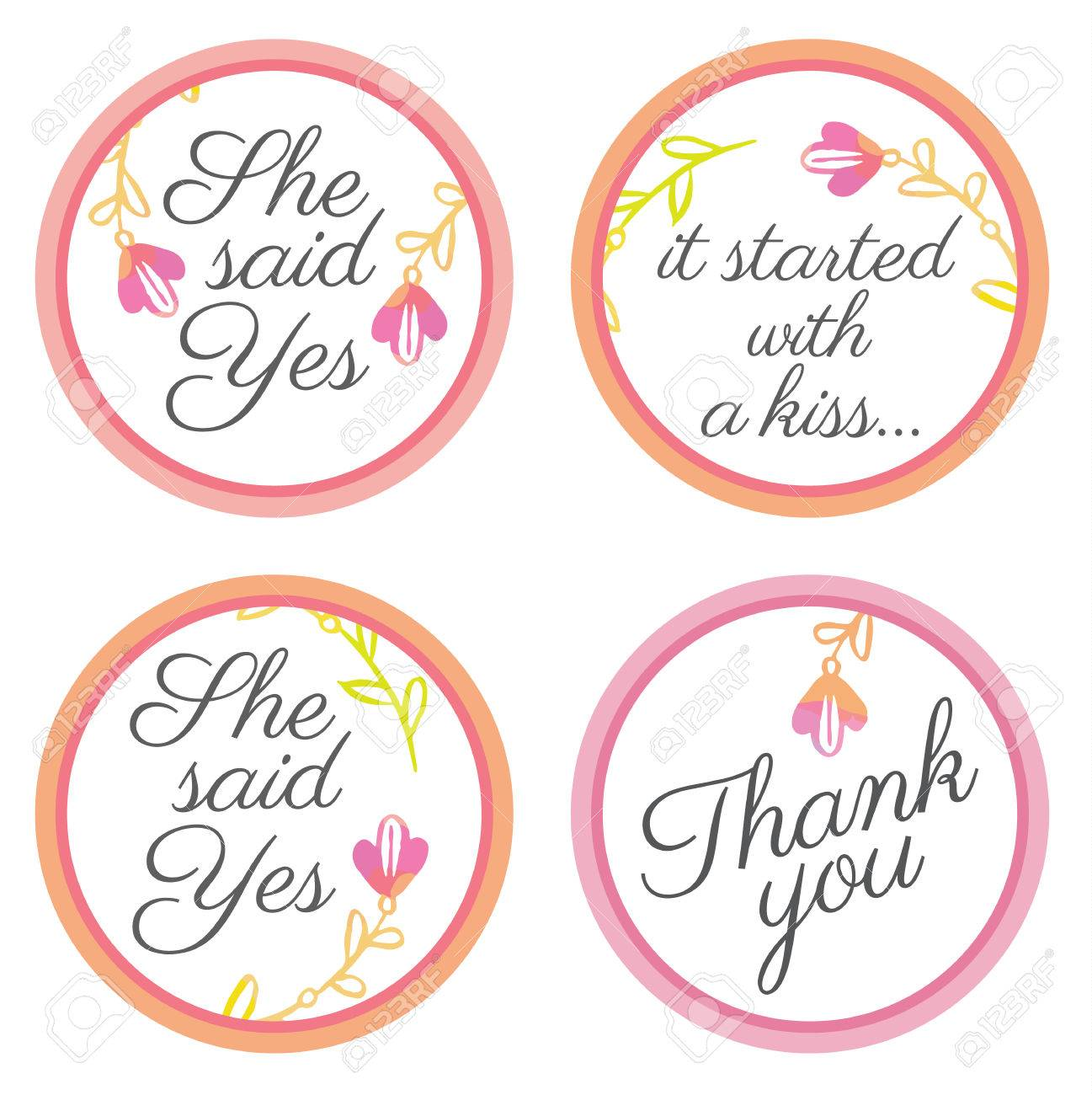 Personalized Candy Sticker Labels With Sakura Big Set - Perfect ...