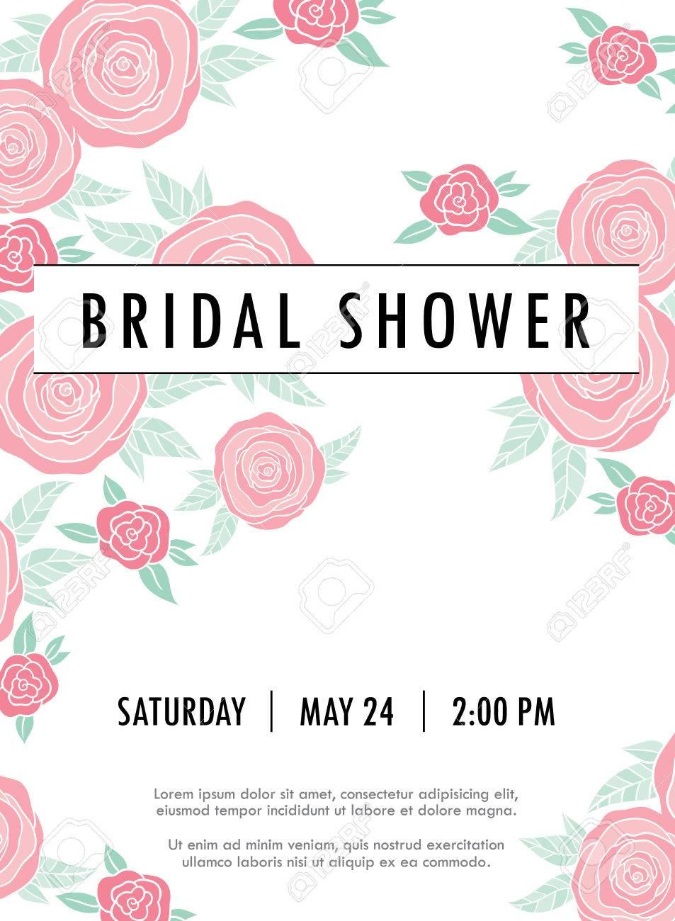 Einladung Hochzeit Karte Mit Aktuellen Trendigen Vorlage Blumen