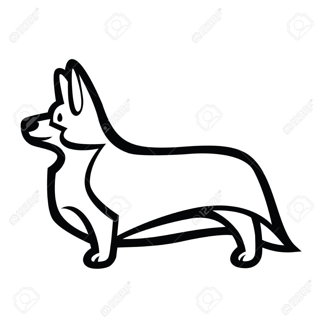 Dibujo Lineal Perro