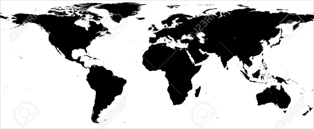 World map black and white border stock photo picture and royalty stock photo world map black and white border gumiabroncs Images