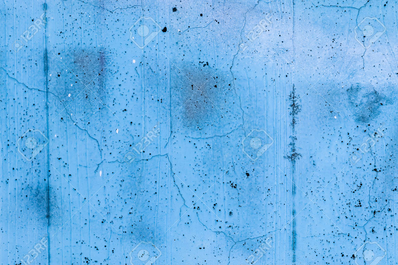 Concrete walls with colorful paint in a close up view - 168639057