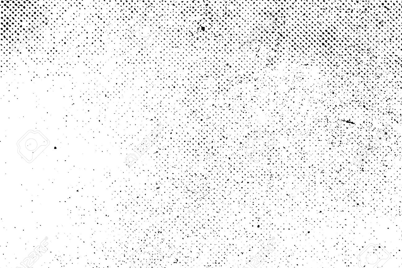 Grunge Real Organic Vintage Halftone Vector Ink Print Background Stock