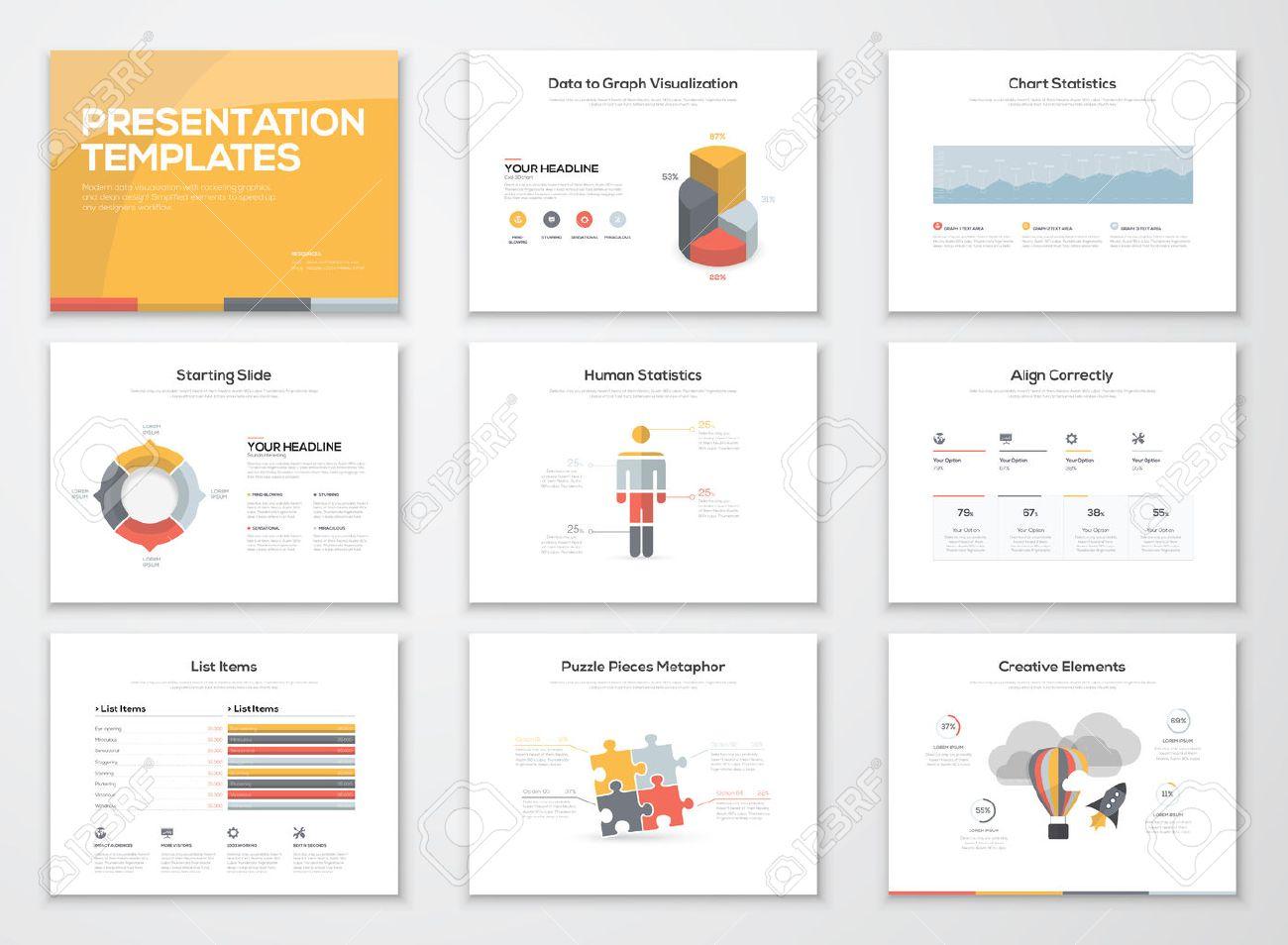 Creative infographics presentation templates and brochures - 36177100