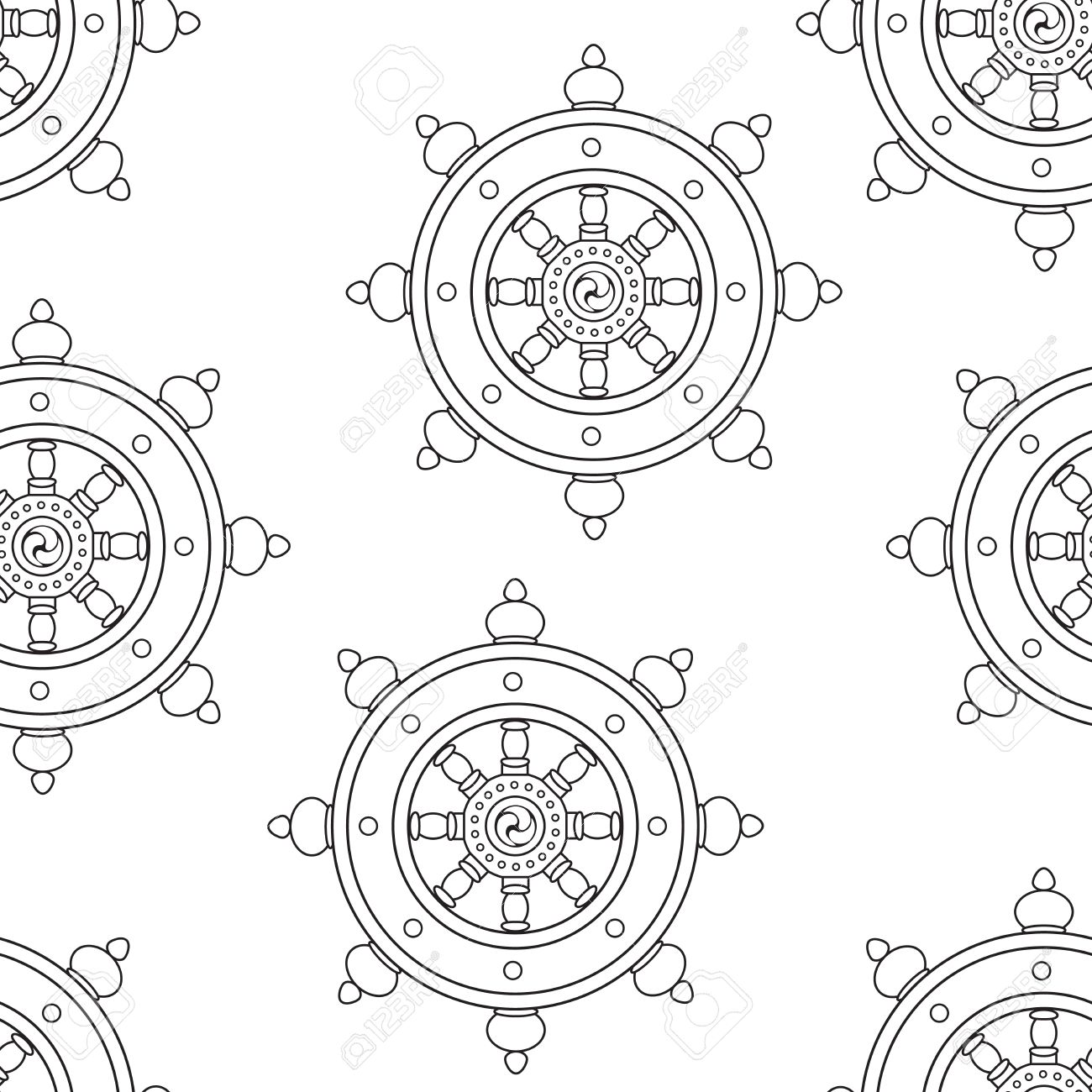 wheel of dharma pattern dharmachakra pattern buddhism royalty free