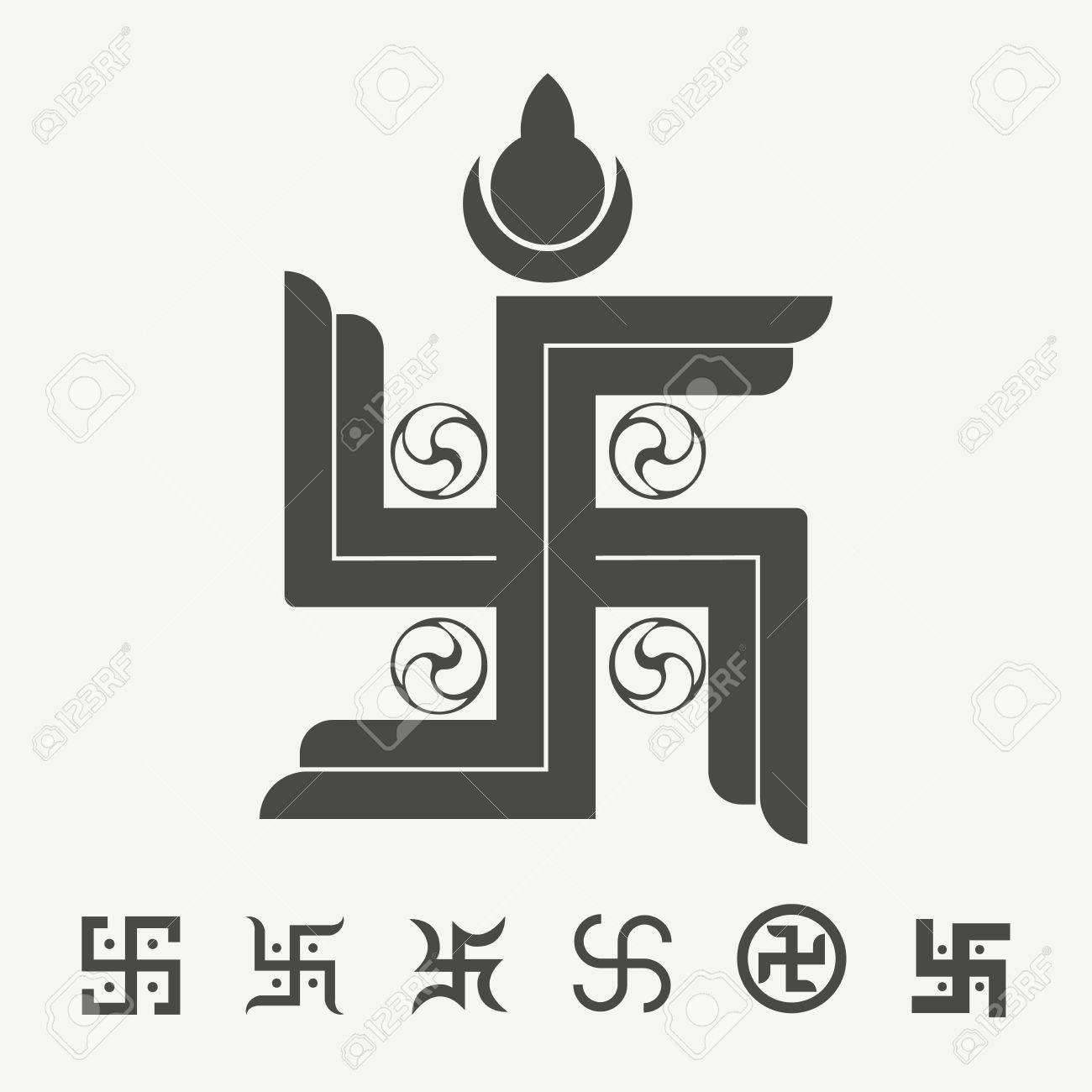 43815427-swastika-symbol-set-buddhist-tr