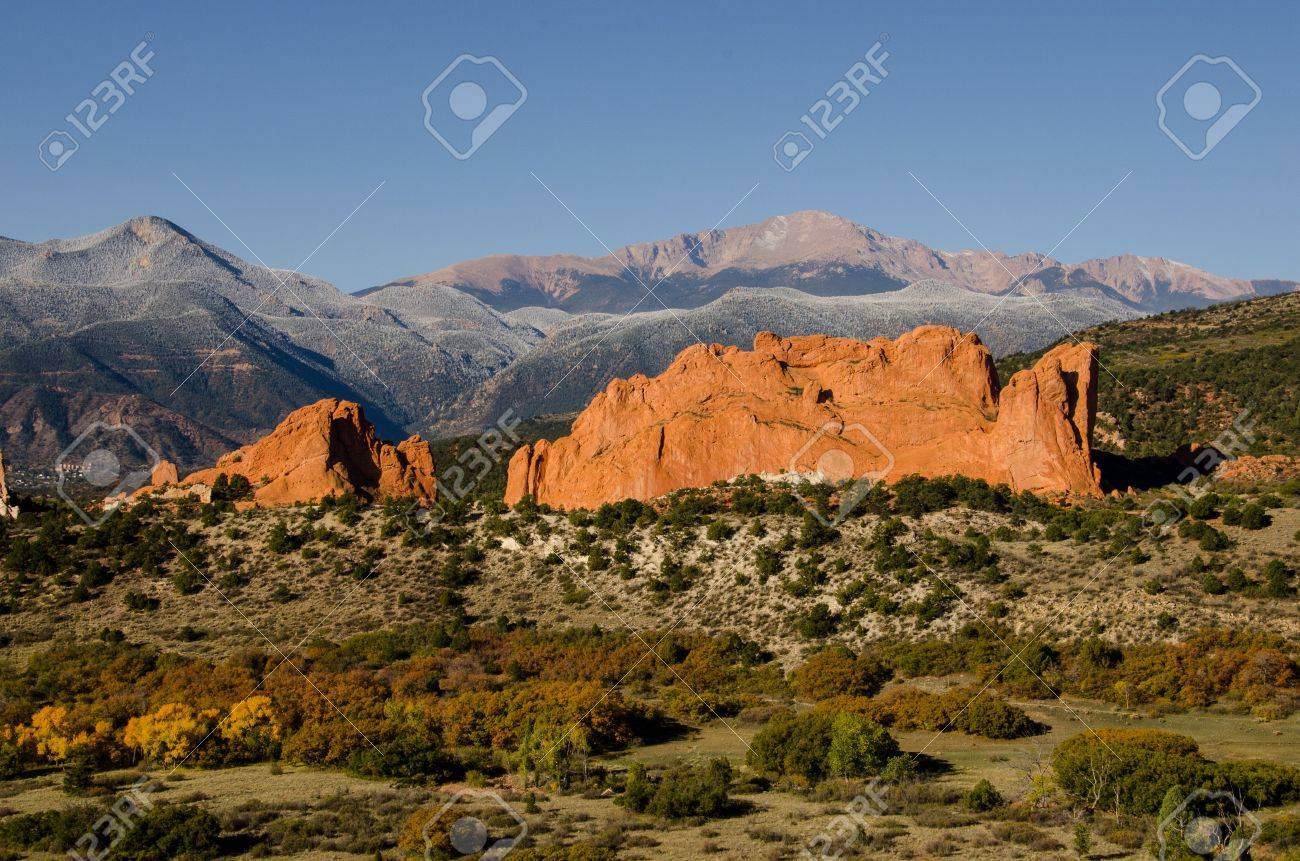 An Iconic Image Of Colorado Springs The Kissing Camels Of The