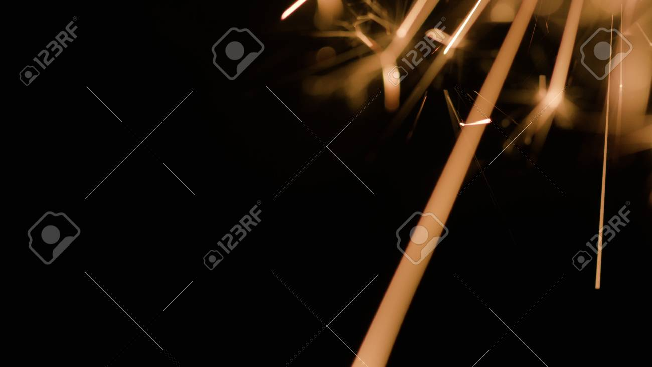 Magic glowing Flow of Sparks in the Dark  You can use Slow Motion