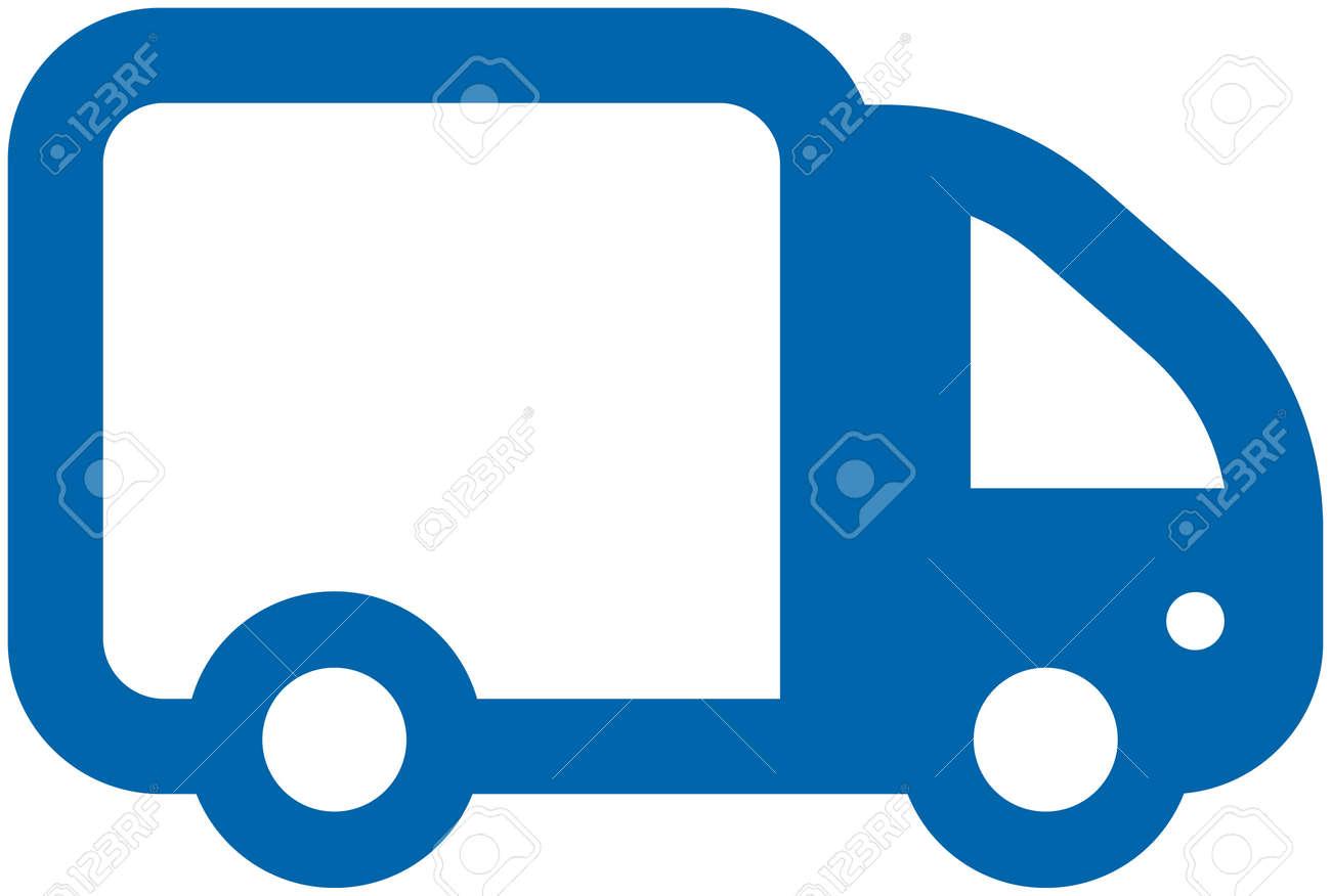 Small Vector Truck Stock Vector - 3572460
