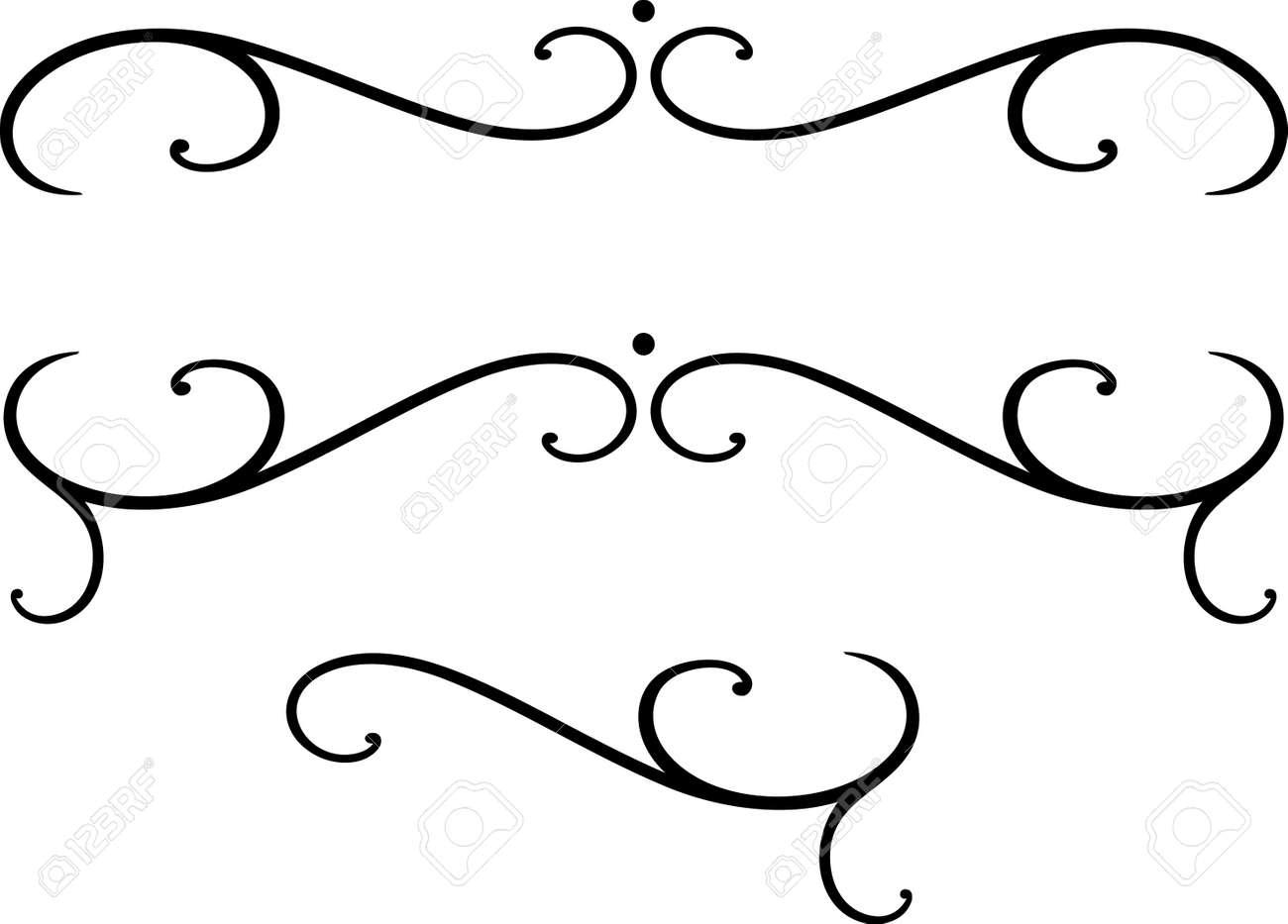 Set Of Original Vector Design Elements Royalty Free Cliparts