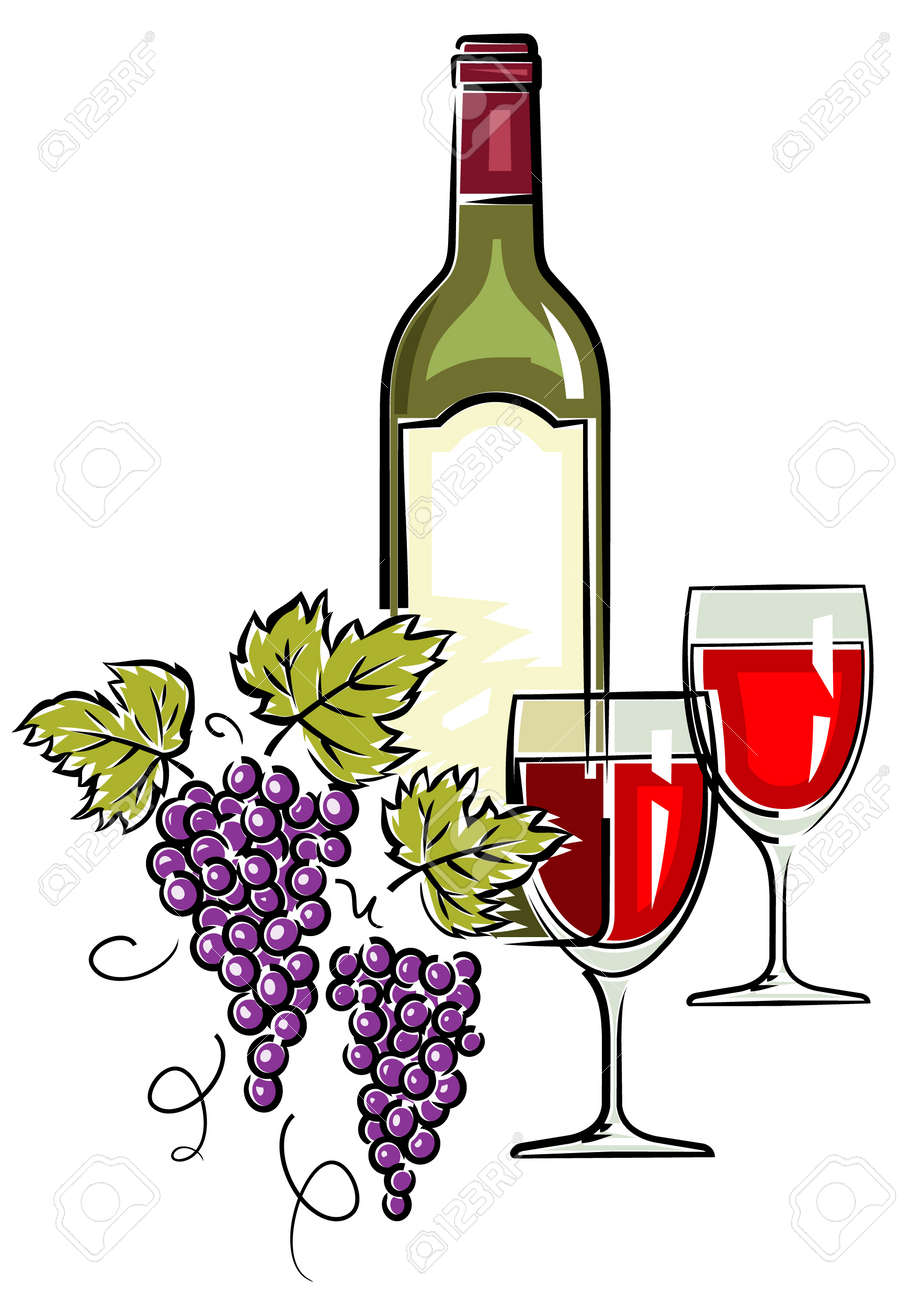 Wine – Vector Illustration Stock Vector - 4961706