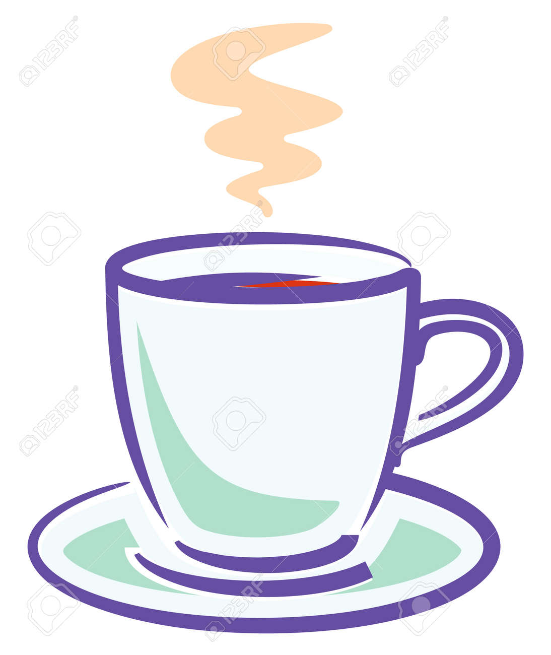 Tasse clipart  Cup Of Coffee (Vector) Royalty Free Cliparts, Vectors, And Stock ...