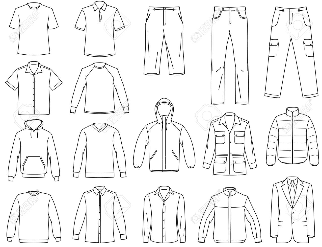 Clothes Templates. 25 best ideas about clothing templates on ...