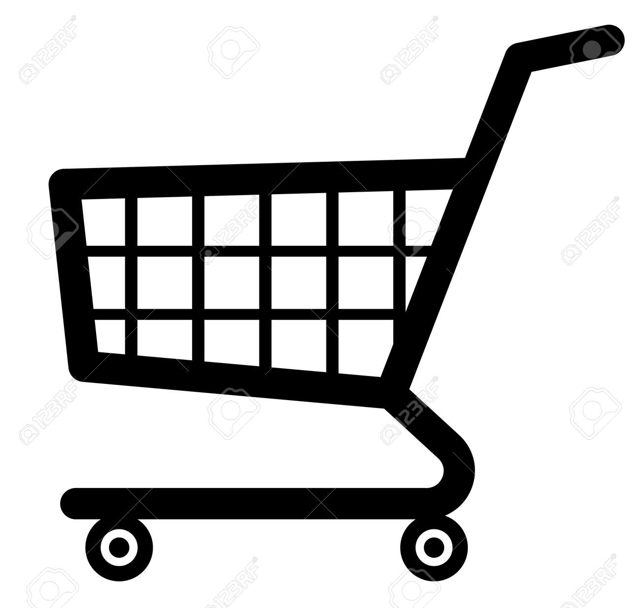 shopping cart icon vector royalty free cliparts vectors and rh 123rf com shopping cart bag icon vector shopping cart icon vector png