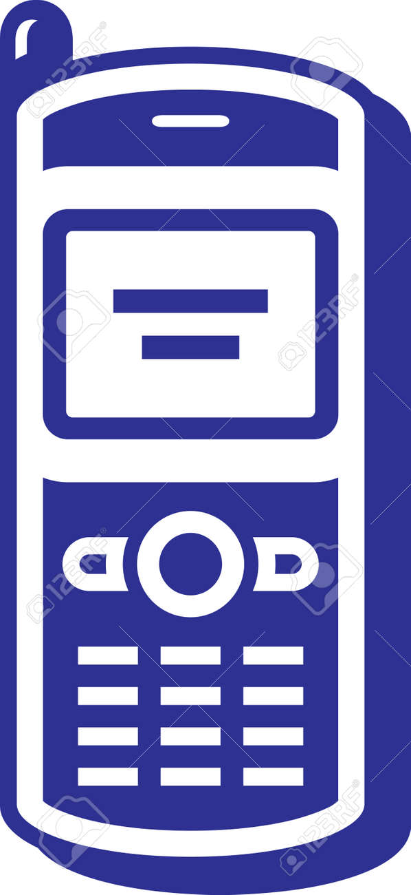 Mobile phone Stock Vector - 4971668