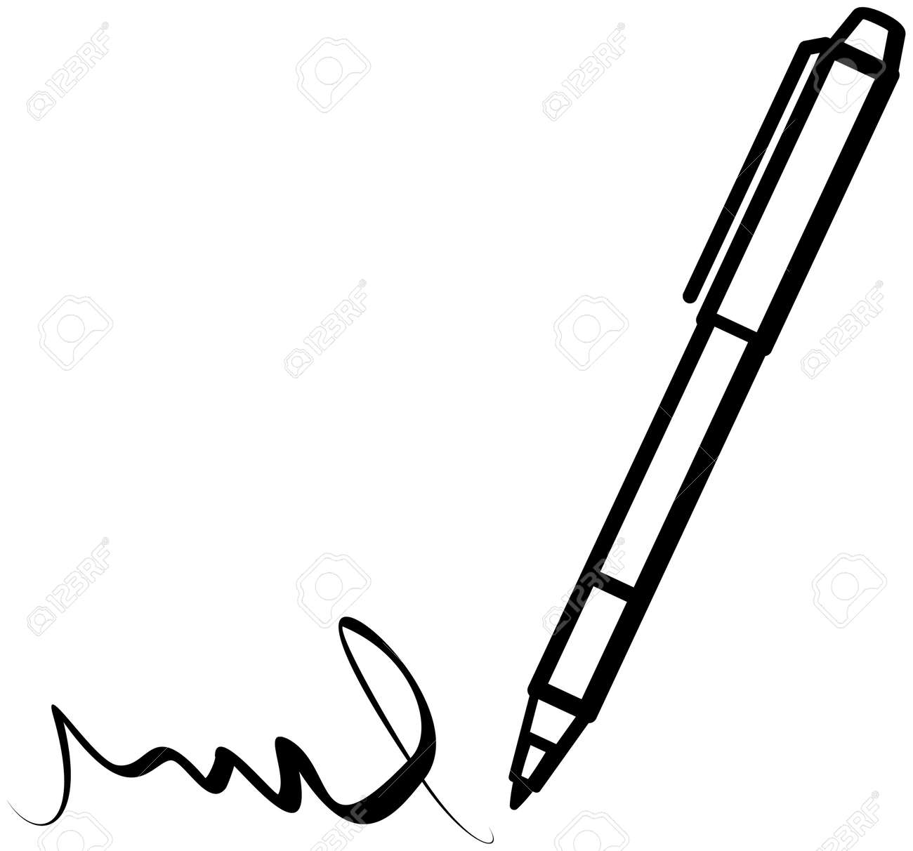 writing pen vector royalty free cliparts vectors and stock rh 123rf com pen vector png pen vector icon