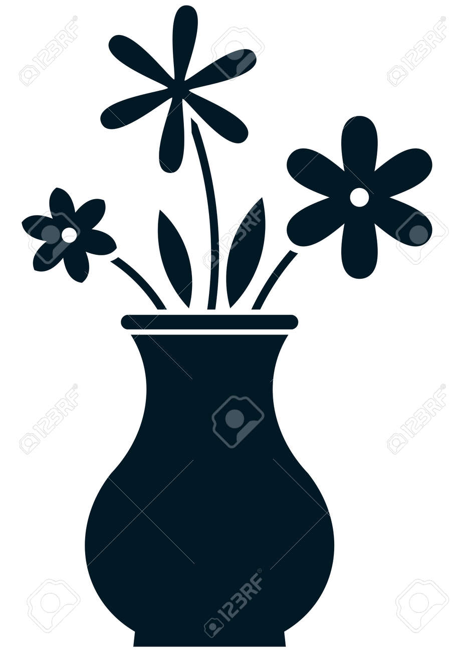 8,156 Flower Vases Stock Illustrations, Cliparts And Royalty Free ...