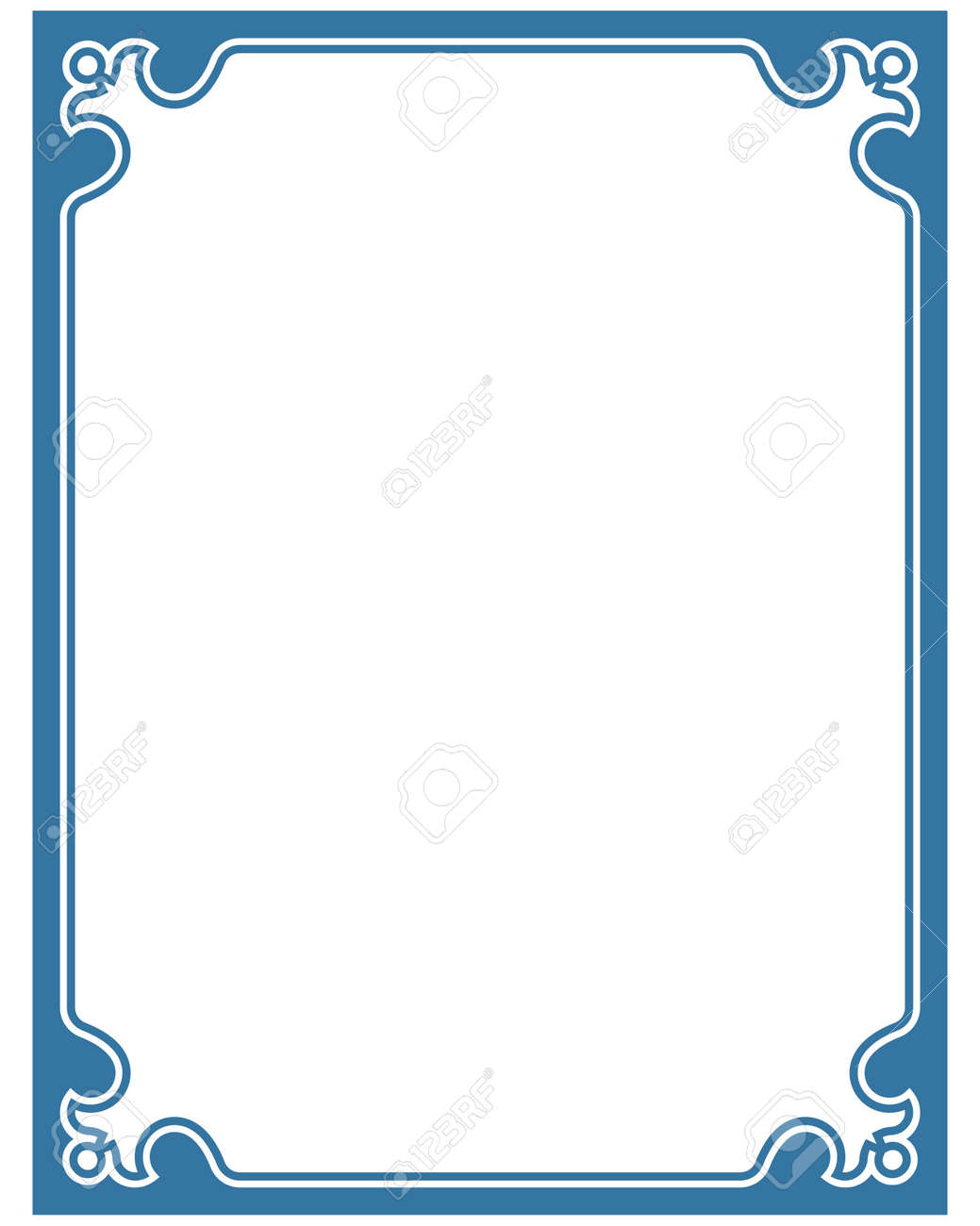 blue border frame deco vector label simple line corner royalty free cliparts vectors and stock illustration image 52559154 blue border frame deco vector label simple line corner