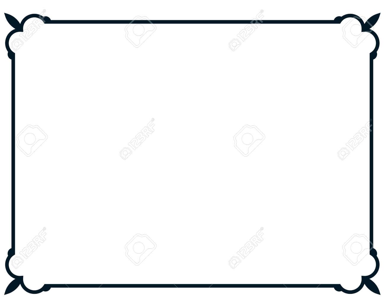 border frame line deco vector label simple royalty free cliparts rh 123rf com border vector free border vectors vecteezy