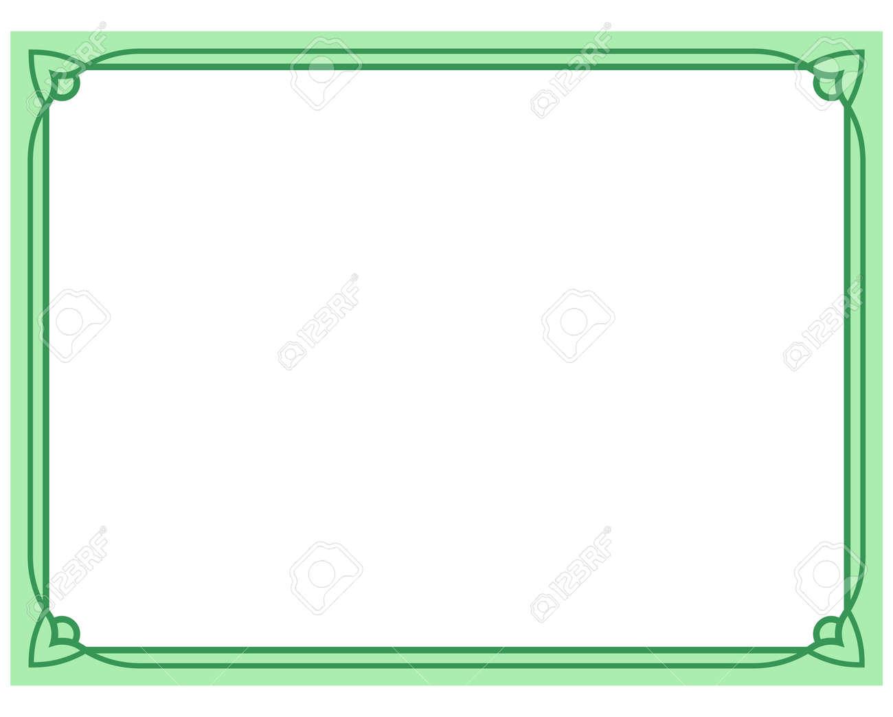 Simple Green Border