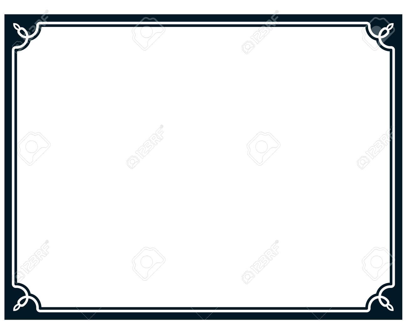 border frame line deco vector label simple royalty free cliparts rh 123rf com border vector images border vector images