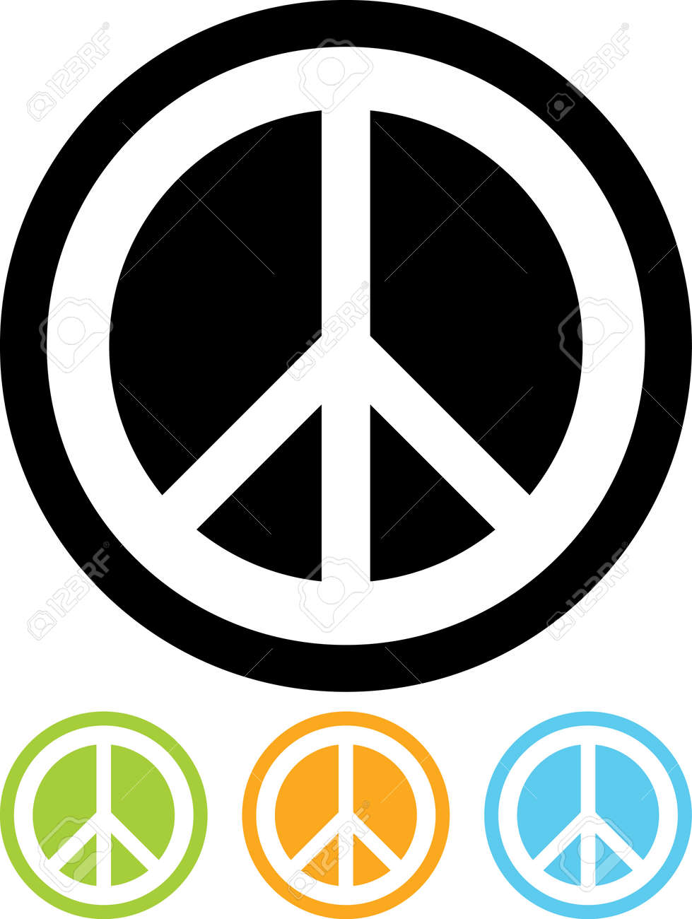 peace sign vector isolated royalty free cliparts vectors and stock rh 123rf com peace sign vector black and white peace sign vector black and white