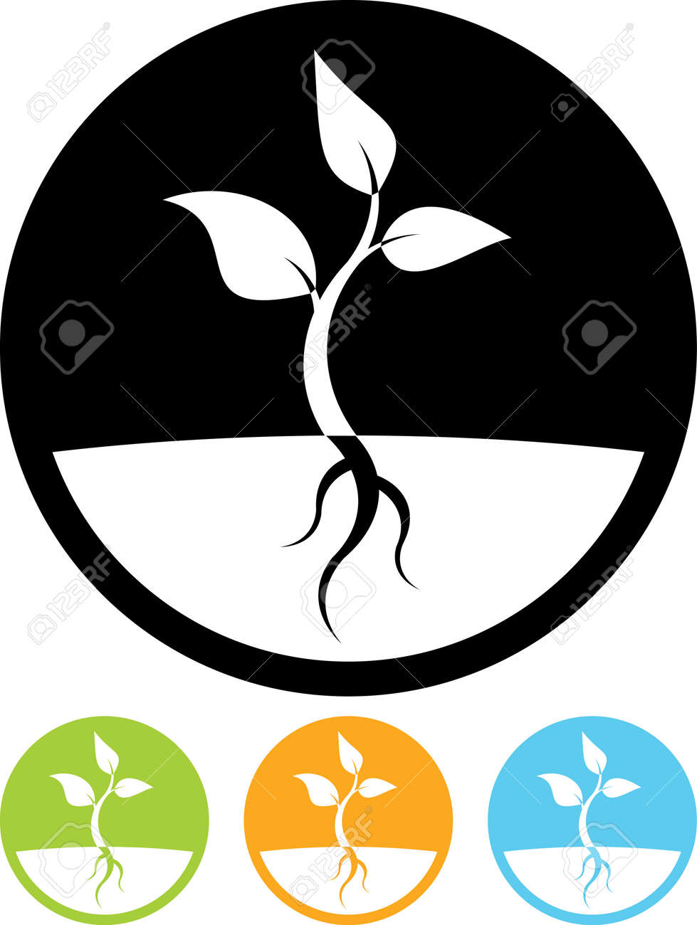 Plant sprout vector icon - 52831708