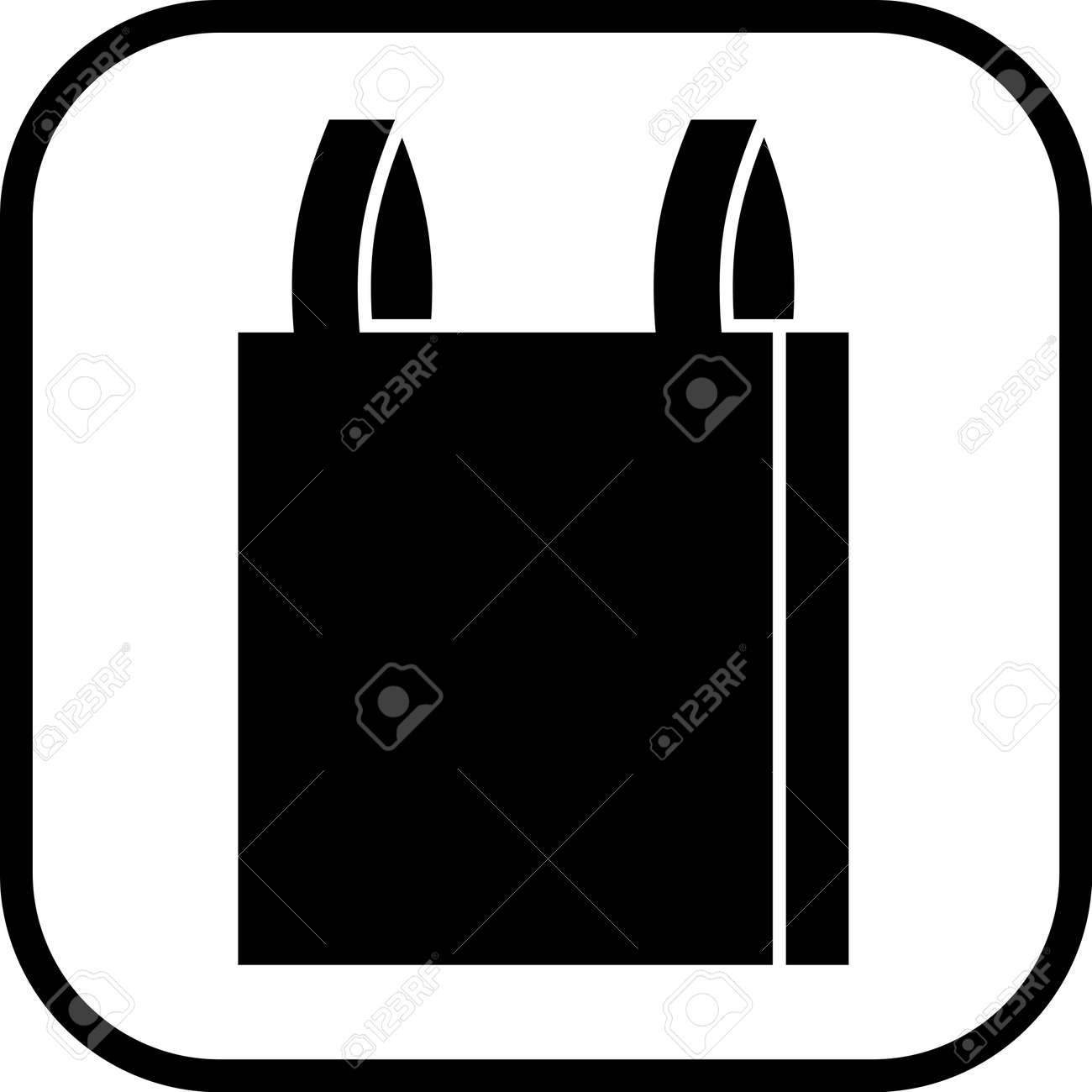 plastic bag vector icon rh 123rf com bag vector icon bag vector logo
