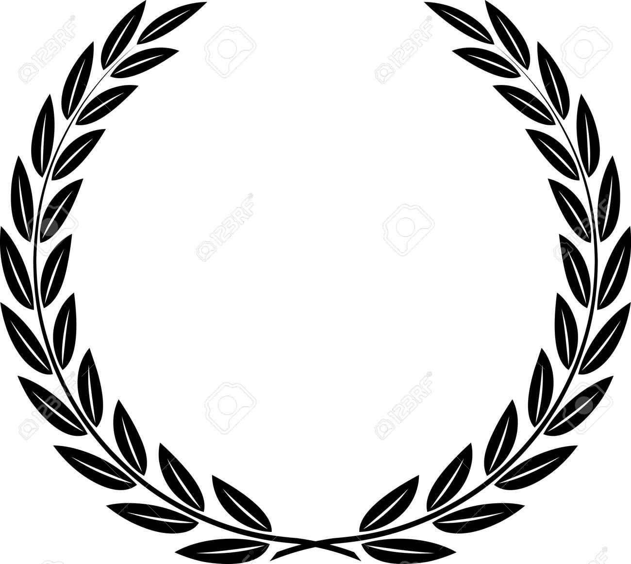 Laurel Wreath Vector - 52870120