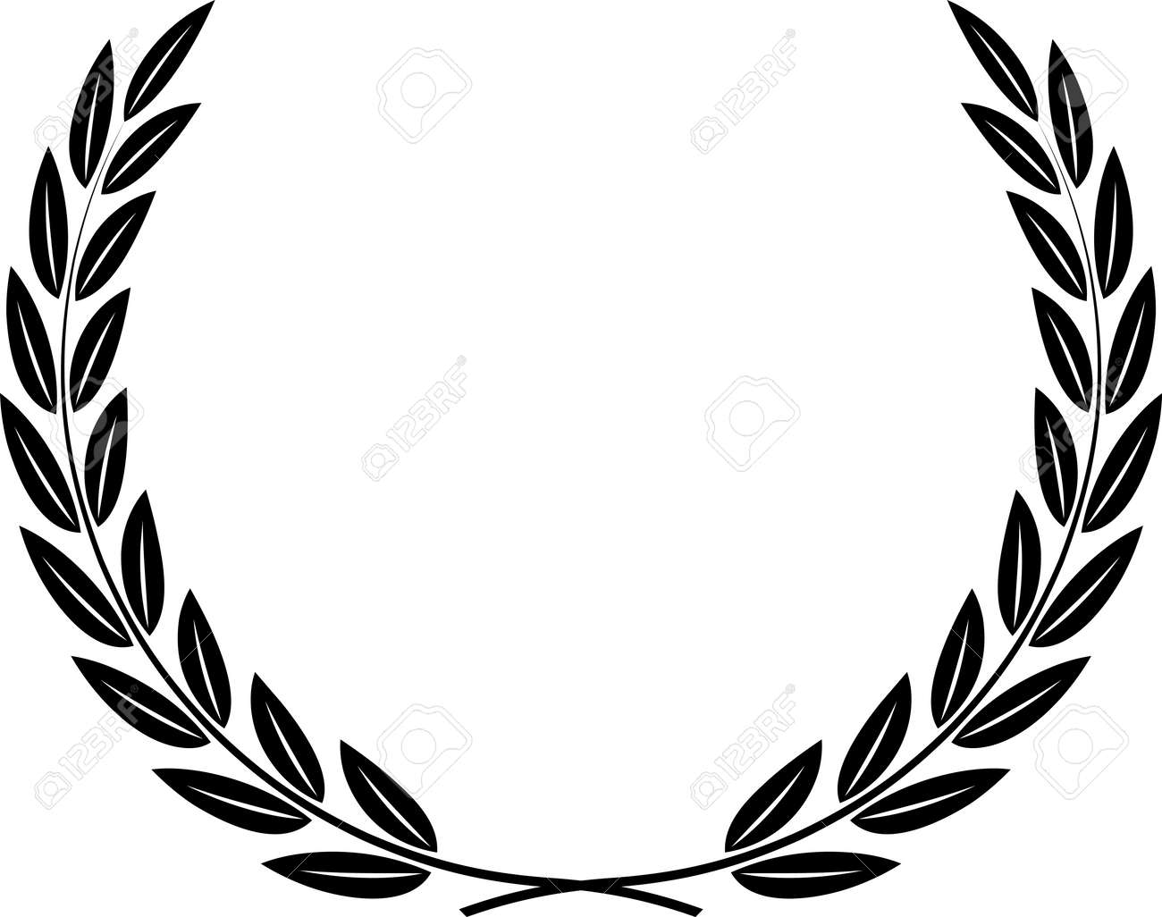 laurel wreath vector royalty free cliparts vectors and stock rh 123rf com laurel wreath vector brush photoshop laurel wreath vector brush photoshop