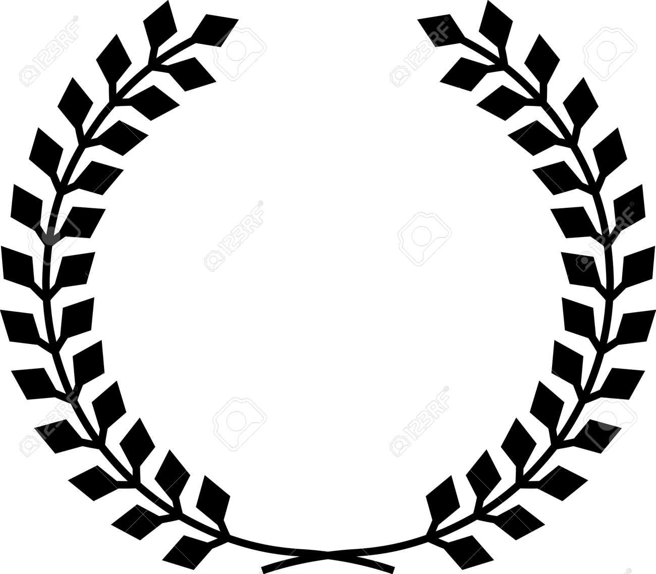 laurel wreath vector royalty free cliparts vectors and stock rh 123rf com laurel wreath vector art laurel wreath vector free