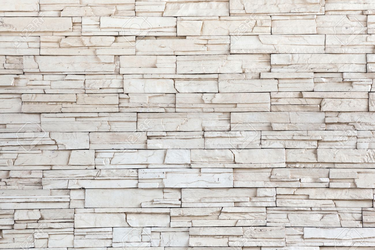 white stone tile texture brick wall out side building stock photo