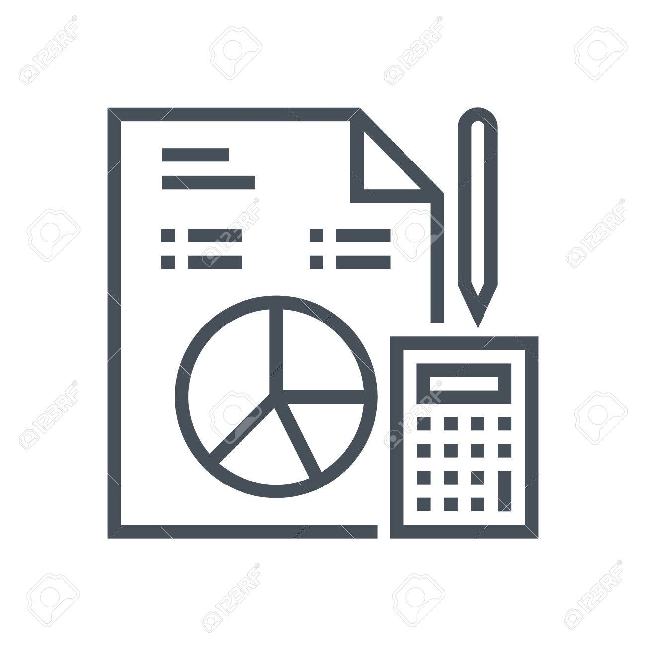 budget statistics icon suitable for info graphics websites and
