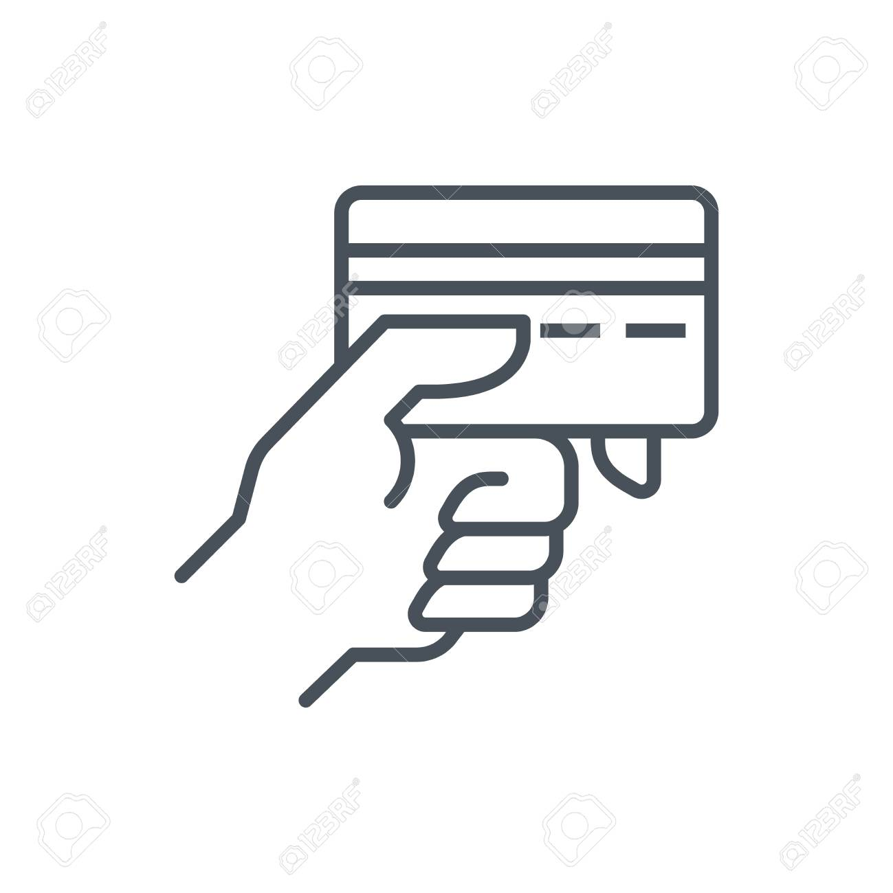 payment type icon suitable for info graphics websites and print