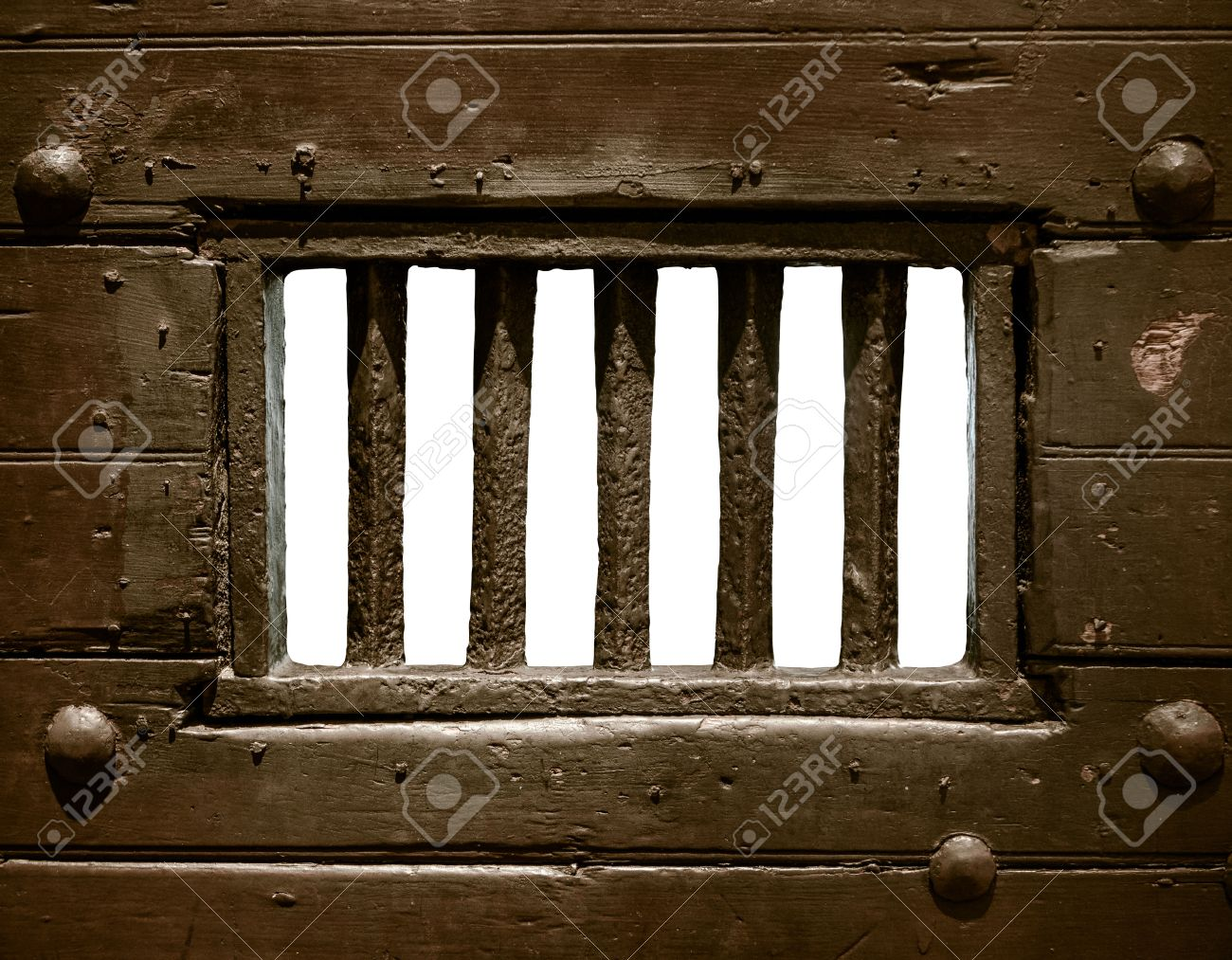 Detail Of The Bars Of An Old Prison Or Jail Cell Door & Prison Cell Door Stock Photos. Royalty Free Prison Cell Door Images