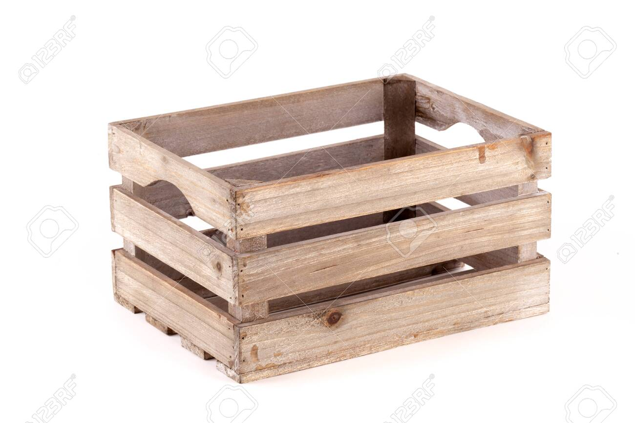 Small Wooden Box Crate Used For Fruit Or Vegetables On A Farm Stock Photo Picture And Royalty Free Image Image 146129822