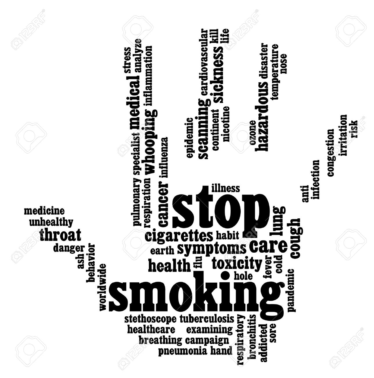 Stop smoking info text graphics and arrangement hand symbol concept stop smoking info text graphics and arrangement hand symbol concept stock photo 15874893 buycottarizona Images