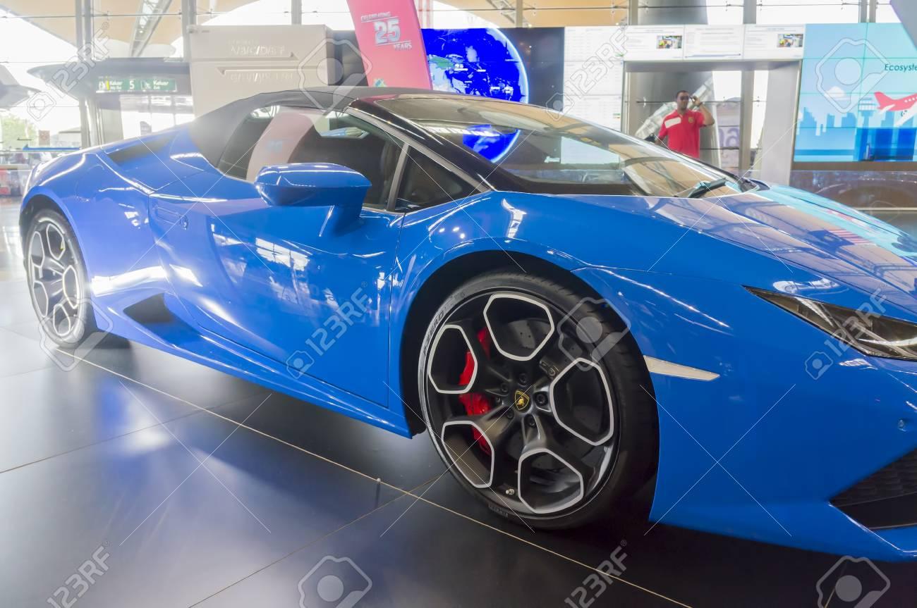 Kuala Lumpur Malaysia Sept 10 2017 Design Body Of Lamborghini