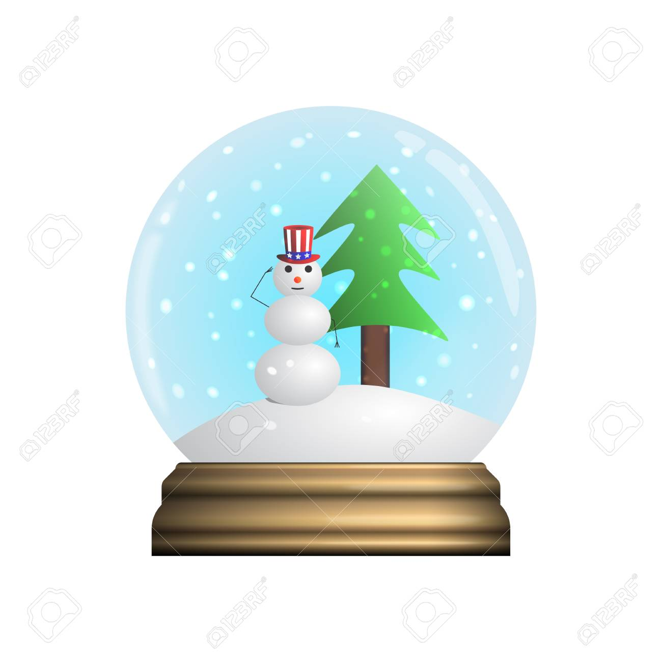glass snow globe souvenir royalty free cliparts vectors and stock rh 123rf com