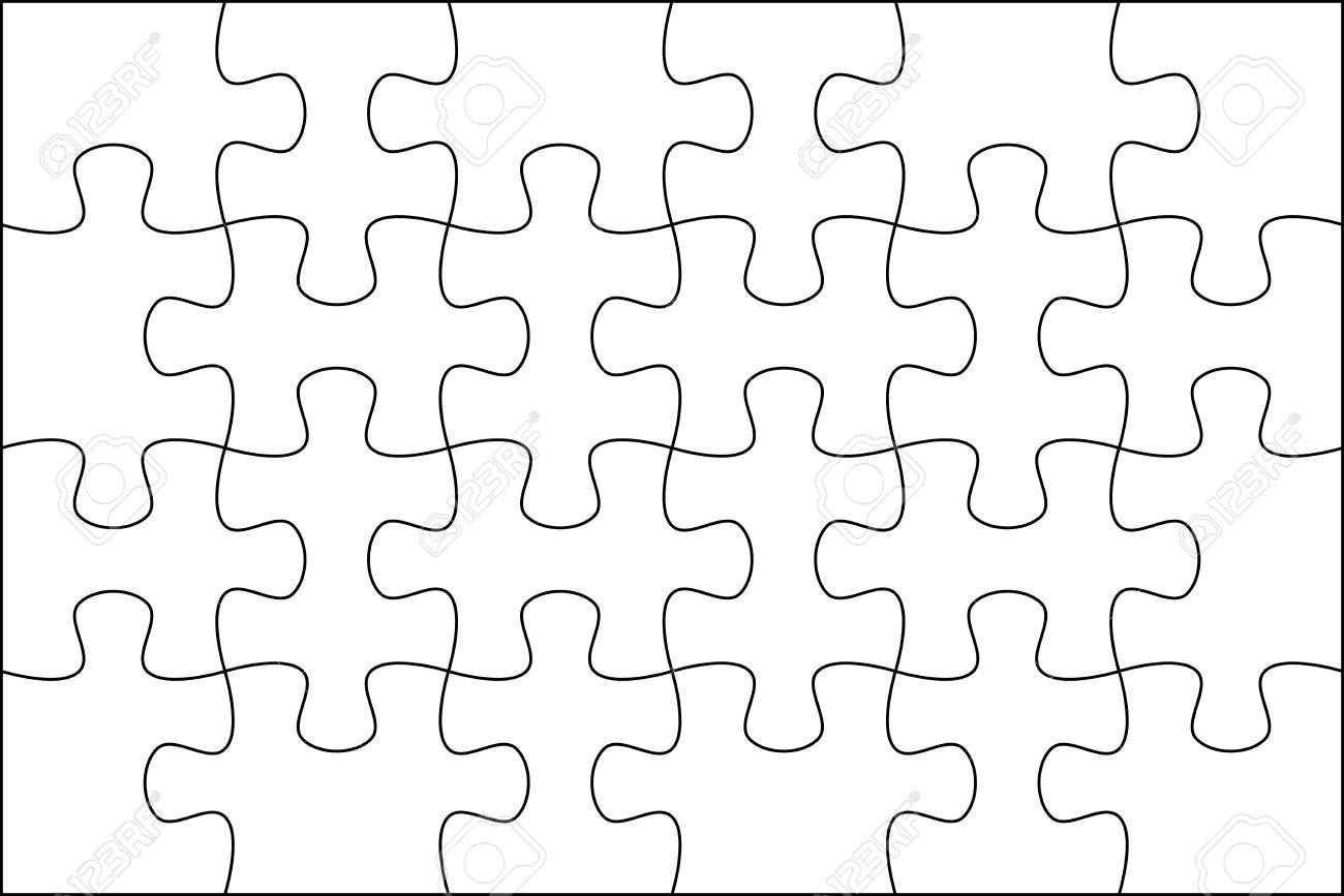 Puzzle De Fondo Plantilla De 6x4 útil Para La Foto De ...