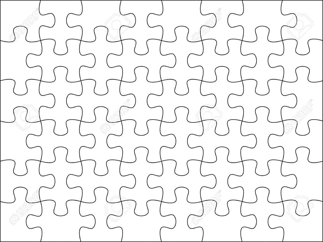 Puzzle De Fondo Plantilla De 8x6 útil Para La Foto De ...