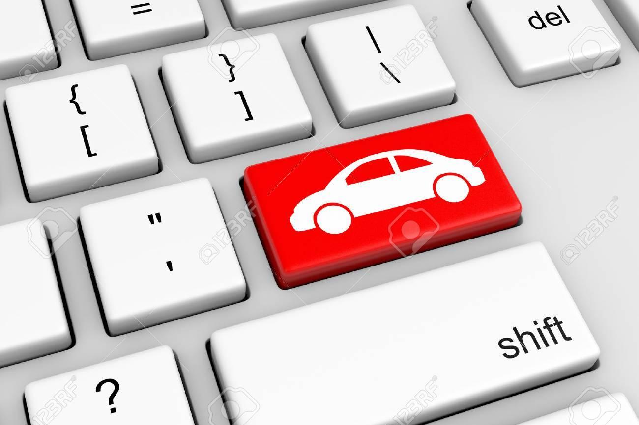 Online Car Insurance >> Stock Illustration