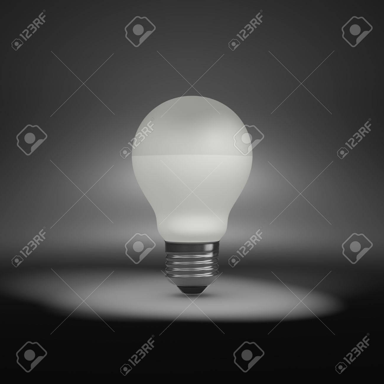 d15bde50b Una única Bombilla LED Bajo Foco Fotos, Retratos, Imágenes Y ...