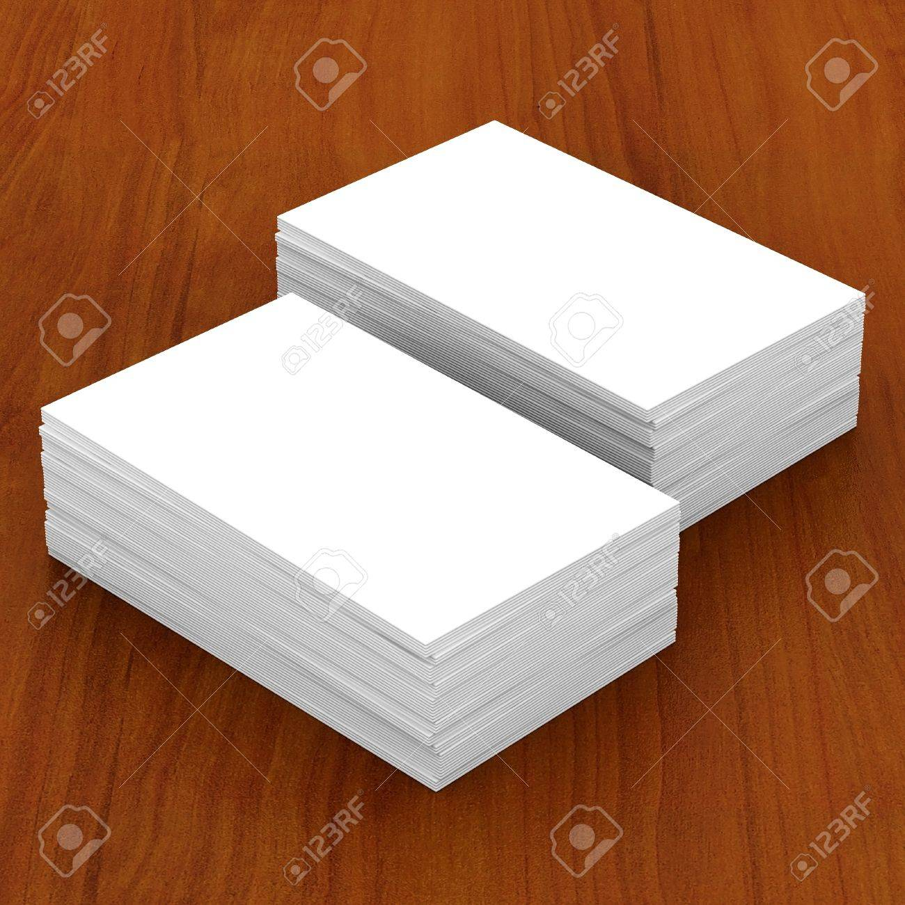 Les Cartes De Visite Maquettes Blanc