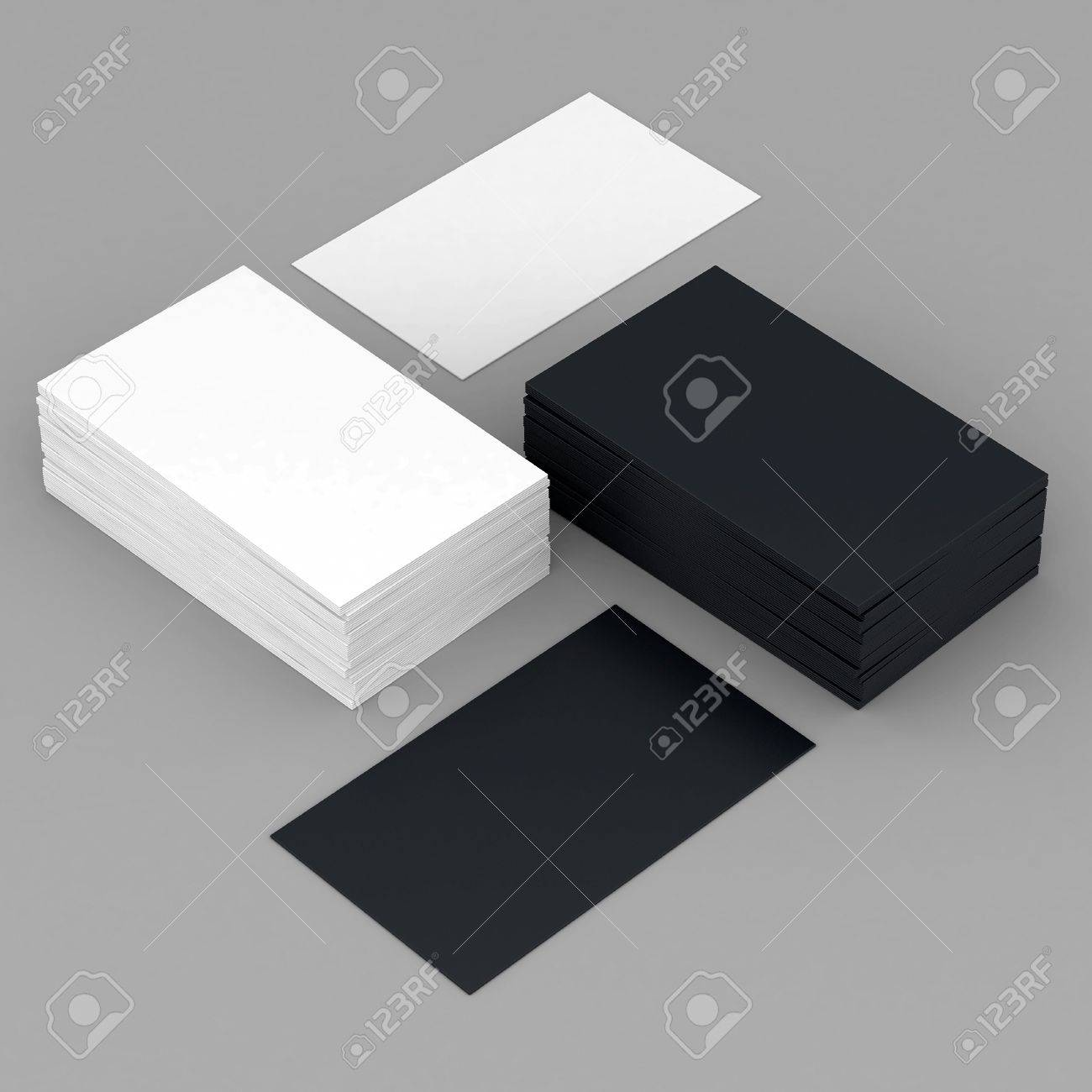 Business cards blank mockup template gray background stock photo business cards blank mockup template gray background stock photo 22013580 reheart Image collections