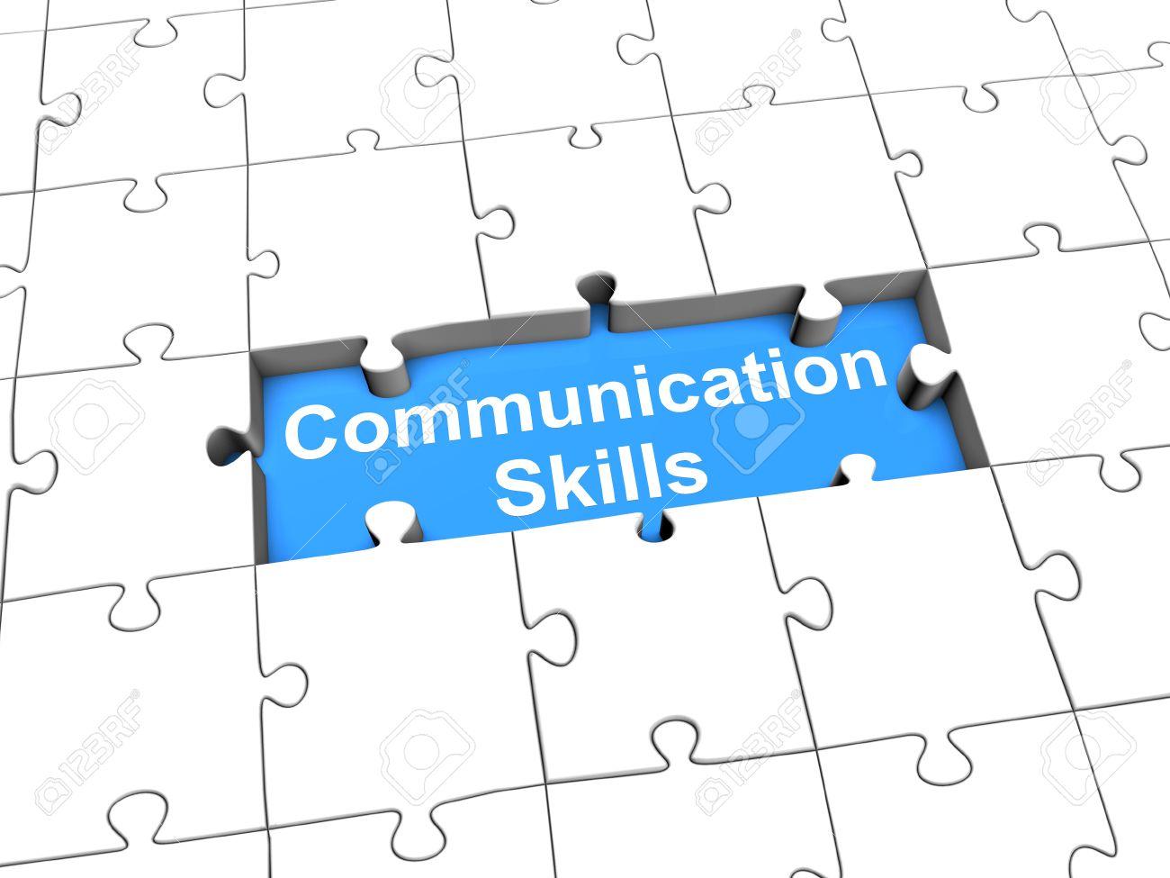 Communication skills puzzle - 39018005